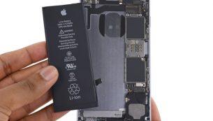 تعمیر یا تعویض باتری آیفون ۶s