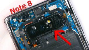 تعمیر یا تعویض دوربین گلکسی نوت ۸ سامسونگ | موبایل کمک