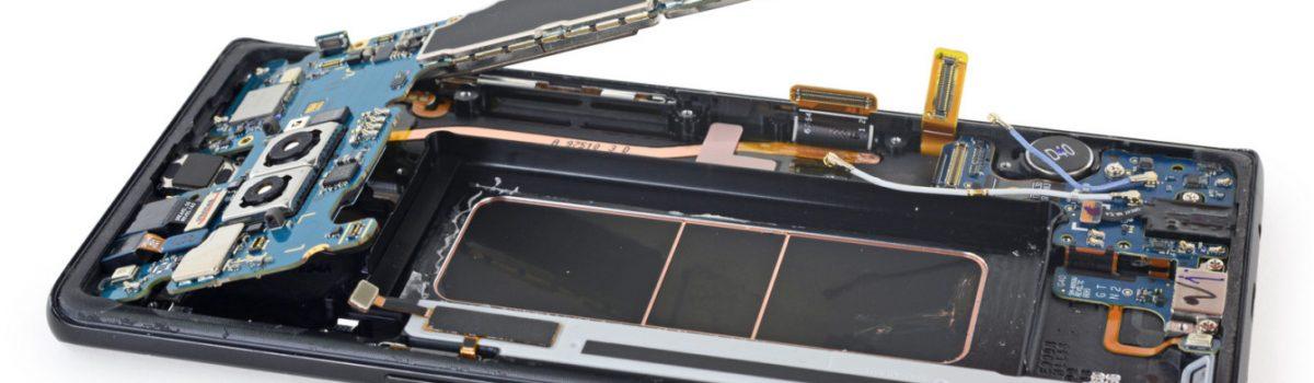 تعمیر برد Note 8 سامسونگ – N950 | موبایل کمک