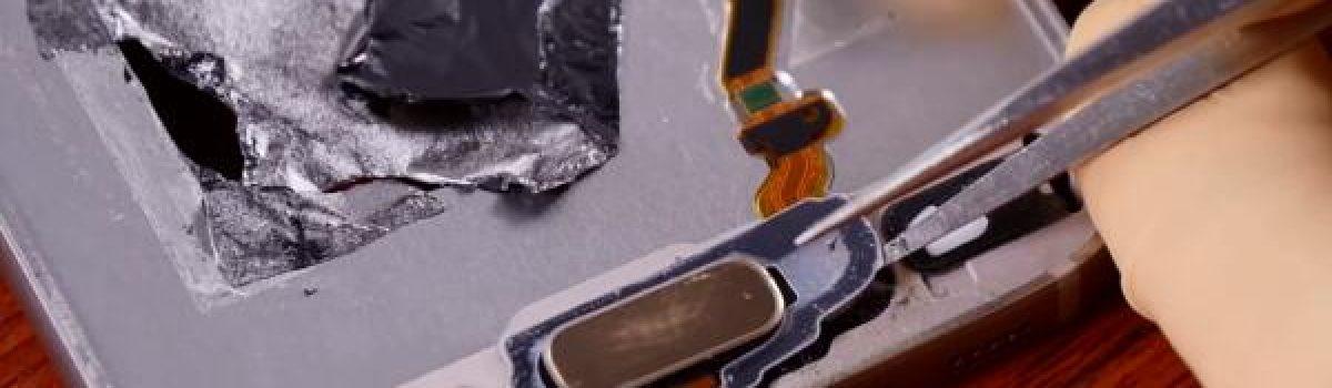 تعمیر دکمه هوم گلکسی S7 Edge سامسونگ با مناسب ترین هزینه