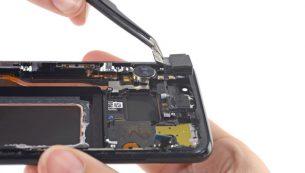 آموزش تعویض دوربین جلو گلکسی S8 سامسونگ