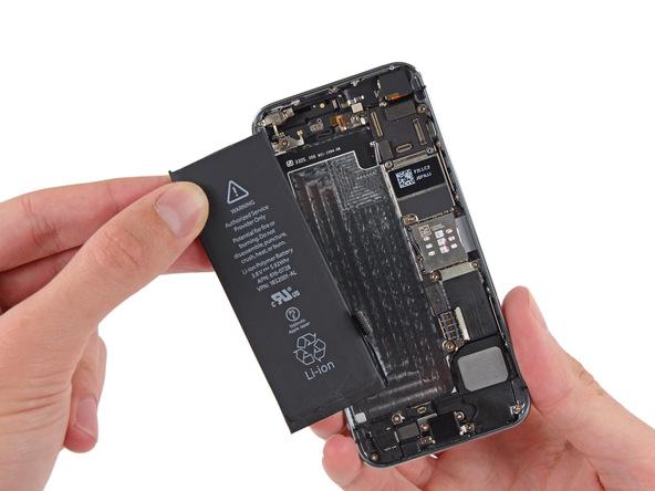 تعمیر باتری آیفون SE اپل