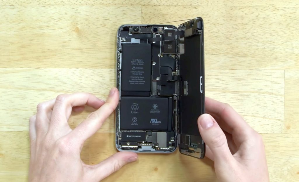 تعمیر برد آیفون X اپل
