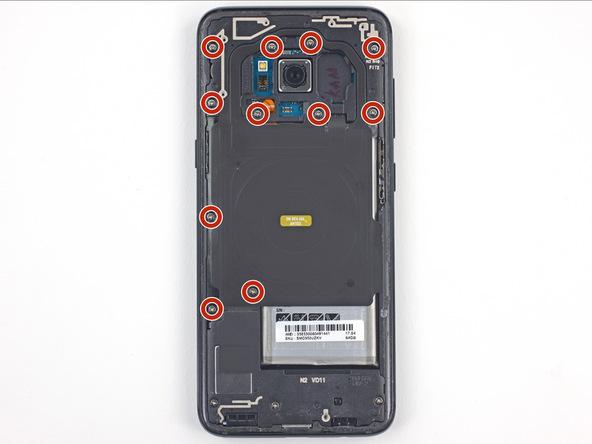 باز کردن پیچ های فلت NFC