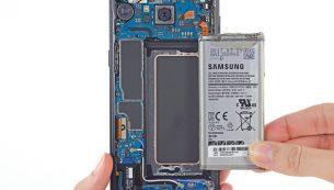 آموزش تعویض باتری گلکسی S8