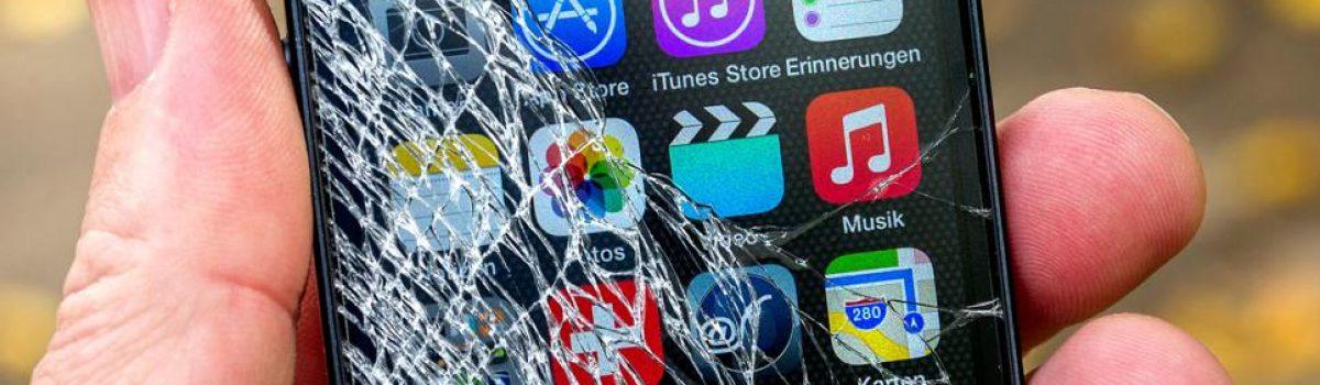 تعویض صفحه نمایش یا ال سی دی شکسته گوشی در ۱ ساعت!
