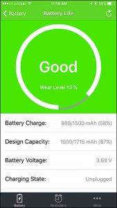 روش های تست و بررسی سلامت باتری آیفون های اپل