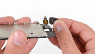 تعمیر دکمه هوم آیفون ۵ با ارزان ترین قیمت در موبایل کمک