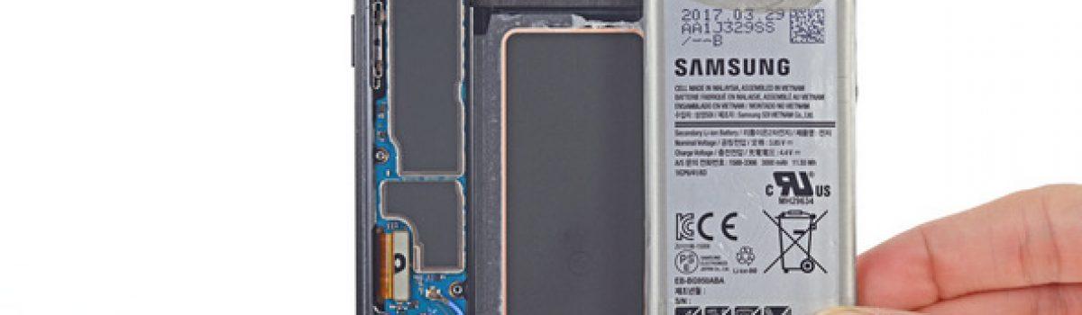 تعمیر یا تعویض باتری گلکسی اس ۸ سامسونگ | موبایل کمک