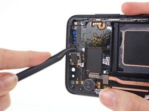هزینه تعمیر اسپیکر گوشی سامسونگ s8
