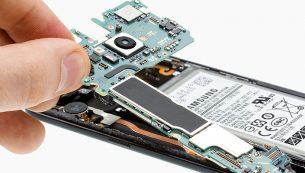تعمیر برد گلکسی اس ۸ سامسونگ با کمترین قیمت در موبایل کمک