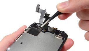 تعمیر یا تعویض دوربین آیفون ۵s