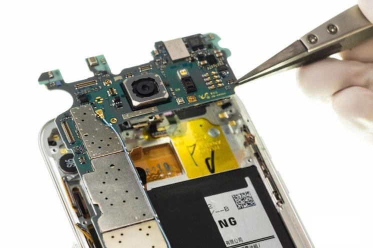 تعمیر برد s7 edge - برد گوشی s7 edge