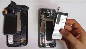 تعمیر باتری گلکسی اس ۷ سامسونگ با کمترین قیمت در موبایل کمک