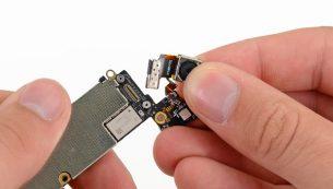 تعمیر دوربین آیفون ۵ اپل با کمترین قیمت در مرکز موبایل کمک