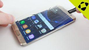 تعمیر تاچ ال سی دی گلکسی اس ۷ اج با کمترین قیمت در موبایل کمک