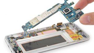تعمیر برد گلکسی اس ۷ اج سامسونگ با کمترین قیمت در موبایل کمک