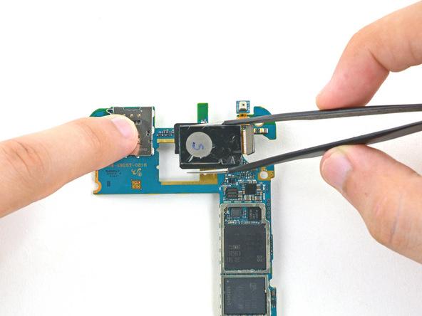 تعمیر یا تعویض دوربین سامسونگ s6 edge