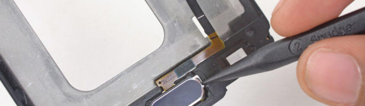 تعمیر یا تعویض دکمه اثر انگشت گلکسی اس ۶ | موبایل کمک