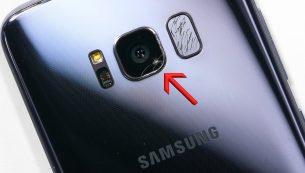 تعمیر یا تعویض دوربین گلکسی اس ۹ سامسونگ | موبایل کمک