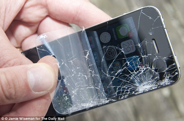 اگر ال سی دی گوشی موبایل شکست چه کنیم؟