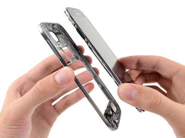 تعمیر ال سی دی گلکسی اس 4 با کمترین قیمت در موبایل کمک
