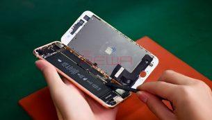 تعویض گلس یا شیشه شکسته آیفون ۸ اپل با کمترین قیمت و بهترین کیفیت