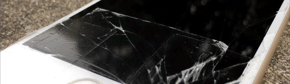 تعویض گلس یا شیشه شکسته آیفون ۶