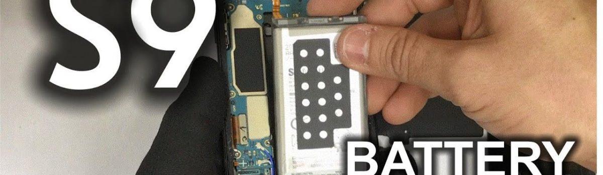 تعویض باتری گلکسی اس ۹ سامسونگ با کمترین هزینه و بهترین کیفیت