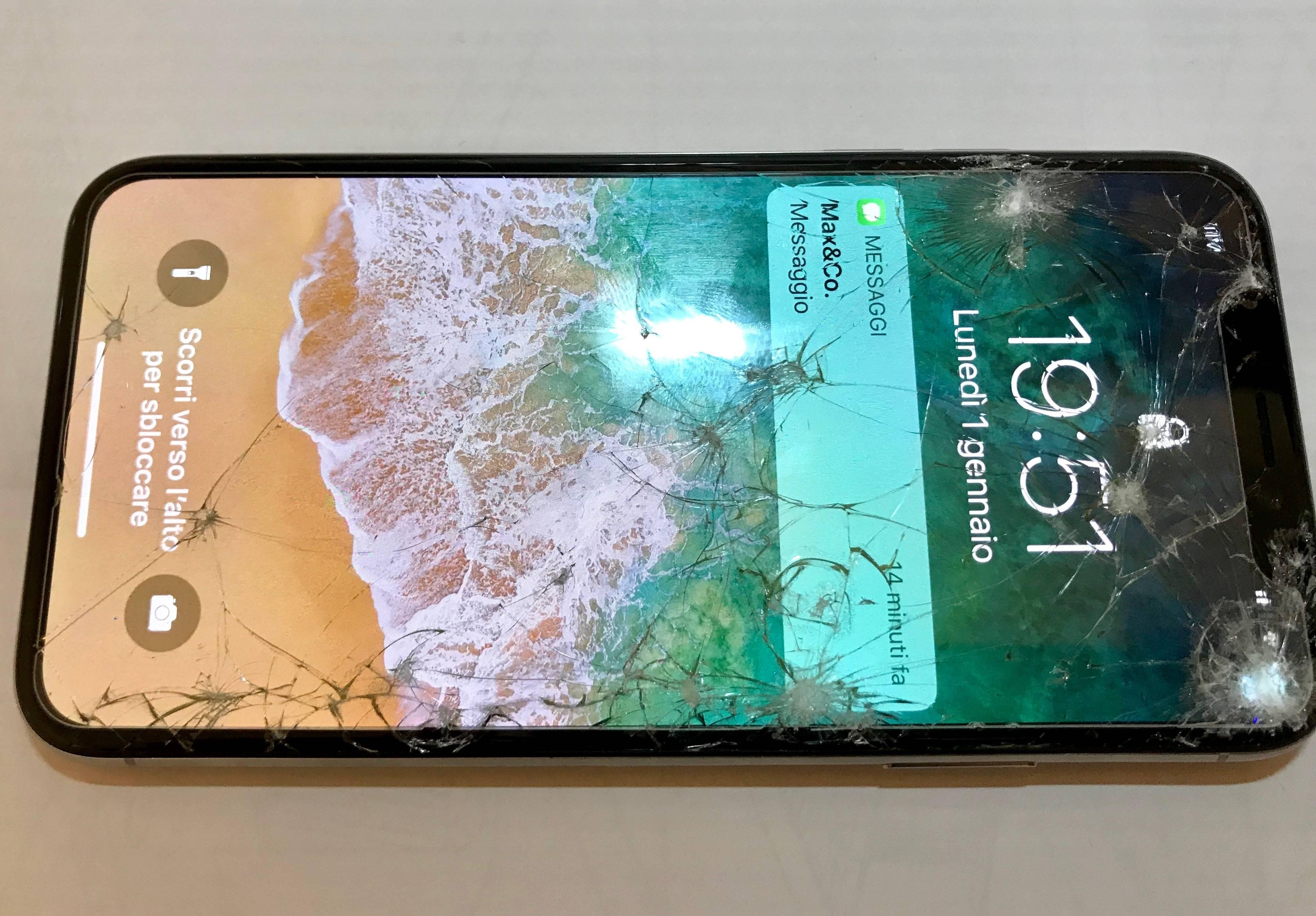 راهنمای تعویض گلس یا شیشه شکسته Apple iPhone X