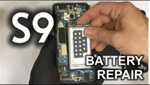 تعویض باتری گلکسی اس 9 سامسونگ با کمترین هزینه