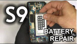 تعویض یا تعمیر باتری گلکسی اس ۹ سامسونگ | موبایل کمک
