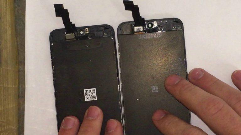 از 0 تا 100 تعمیر ال سی دی و تاچ گوشی موبایل