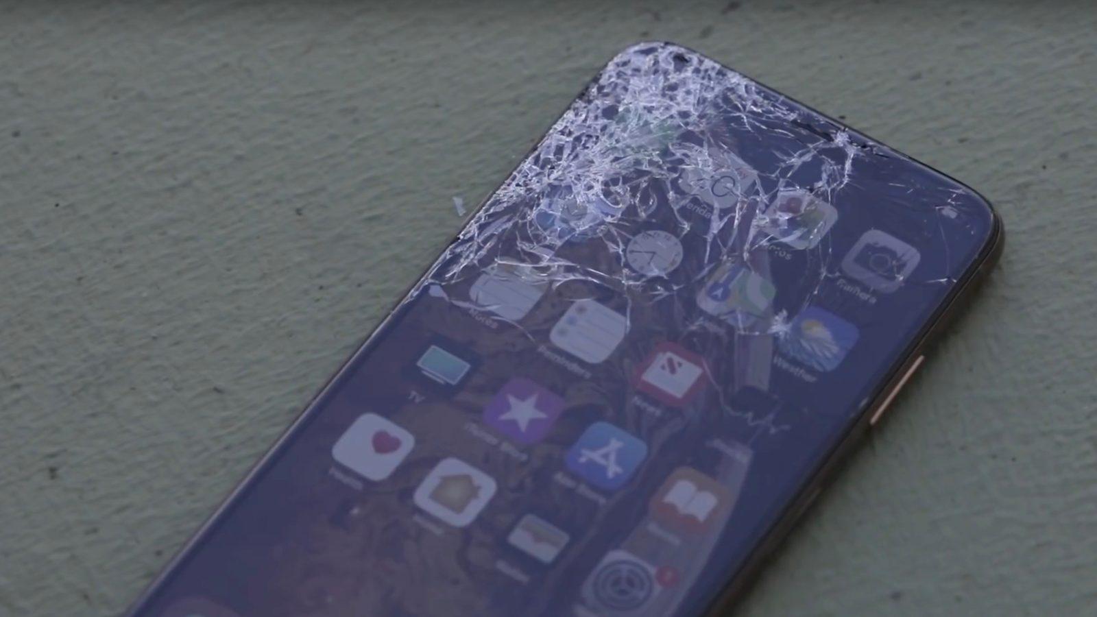 راهنمای تعویض گلس یا شیشه شکسته Apple iPhone XS Max