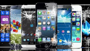 نشانه های خرابی در LCD آیفون و سامسونگ | گارانتی اصلی