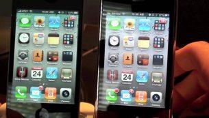 تعویض گلس و شیشه شکسته آیفون ۴ اپل با بهترین کیفیت در مرکز موبایل کمک