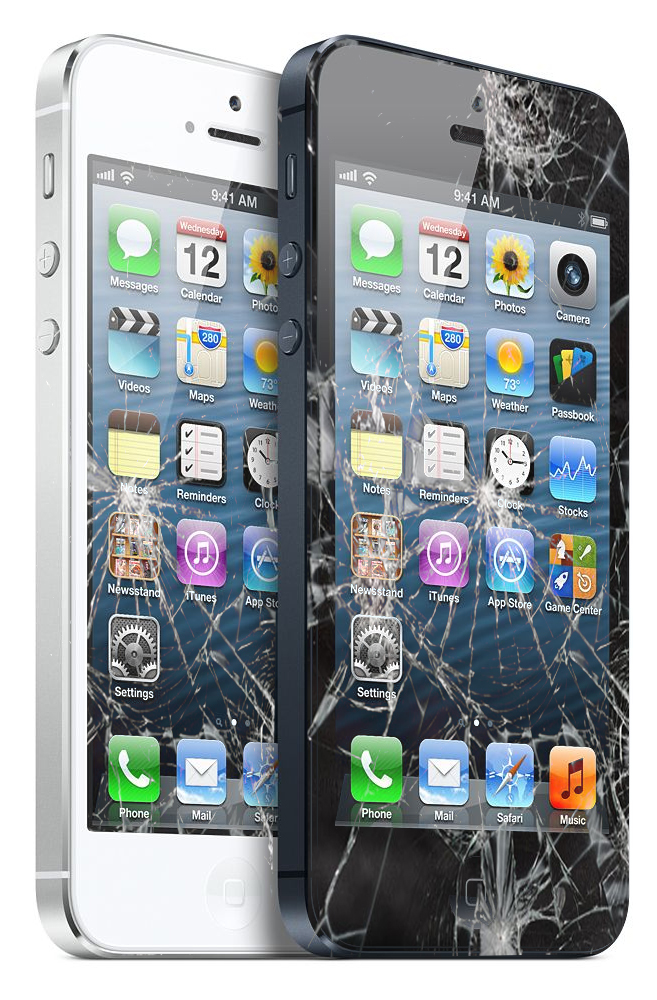 تعویض گلس آیفون 4 اپل با بهترین کیفیت در مرکز موبایل کمک