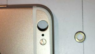 آموزش تعویض کاور و رینگ لنز دوربین پشت آیفون ۶s اپل