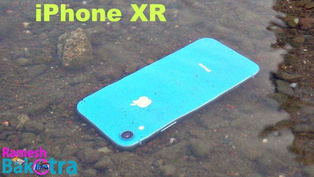 تعمیر آیفون XR آب خورده | گارانتی اپل