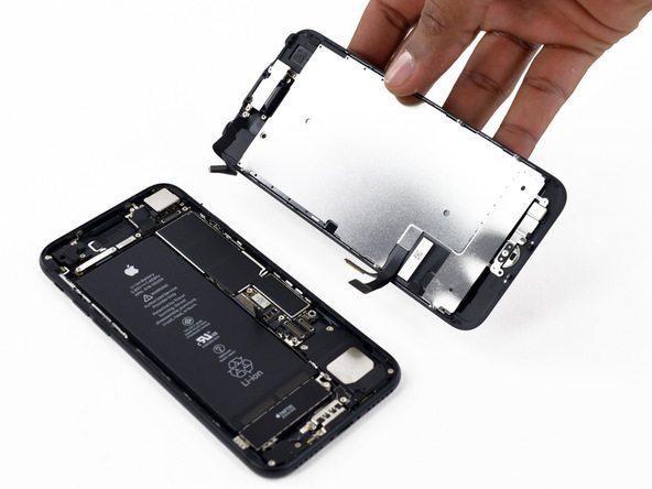 تعویض ال سی دی آیفون 7 اپل
