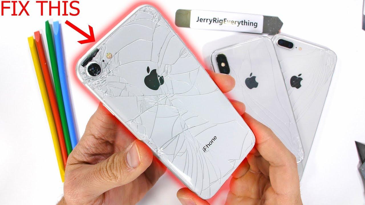 تعمیر قاب شکسته آیفون XR | گارانتی اپل