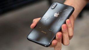 تعویض قاب شکسته آیفون X با کمترین هزینه در مرکز موبایل کمک