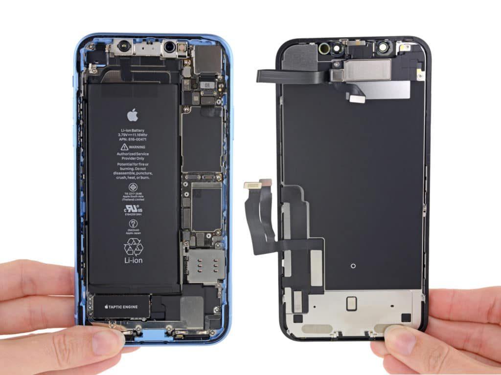 تعمیر باتری آیفون XR اپل