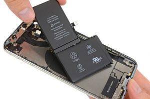 تعمیر یا تعویض باتری آیفون XS