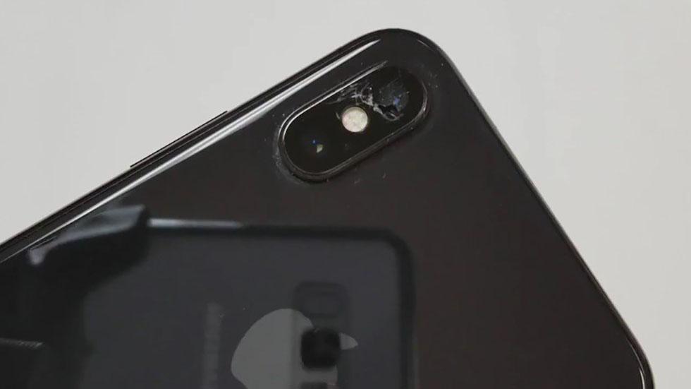 تعمیر دوربین آیفون XS اپل