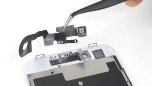 آموزش تعویض دوربین سلفی آیفون ۸ اپل