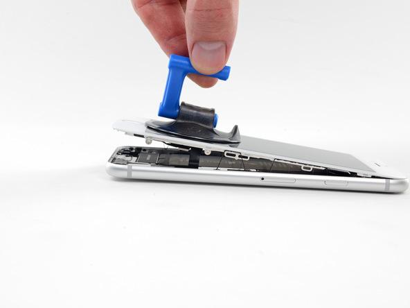تعویض تاچ ال سی دی آیفون 8 اپل