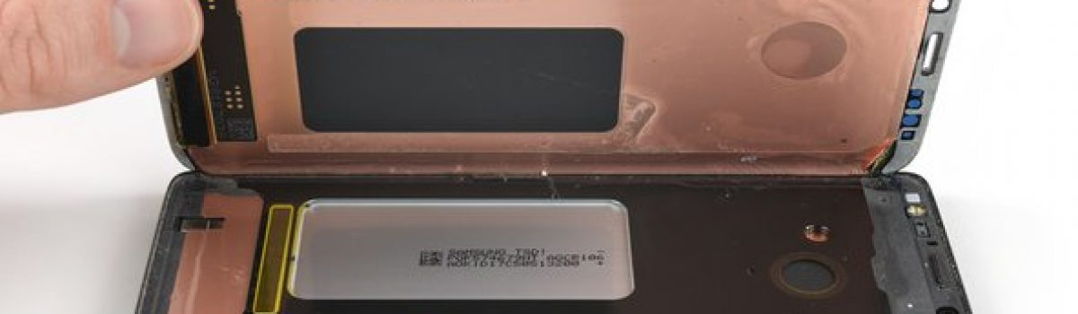 آموزش تعویض یا تعمیر ال سی دی مدل های سری S سامسونگ