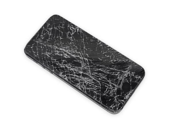 راهنمای تعویض گلس یا شیشه شکسته Apple iPhone SE
