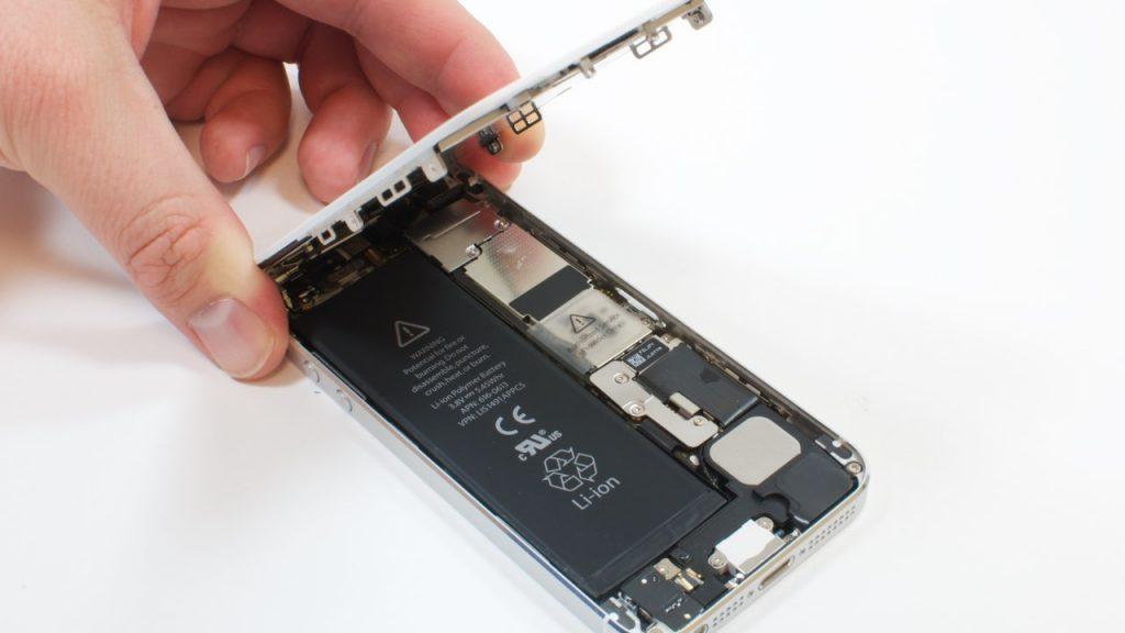 تعمیر ال سی دی آیفون 5